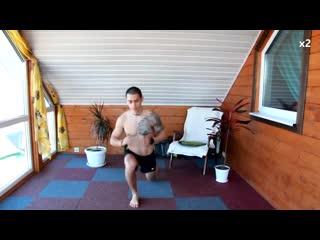 КАК НАКАЧАТЬ НОГИ ДОМА Тренировка ног со своим весом