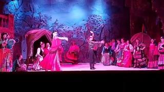 """Оперетта """"Цыганский барон"""" (И.Штраус) Цыганский танец Театр оперы и балета Новая сцена г Саратов."""