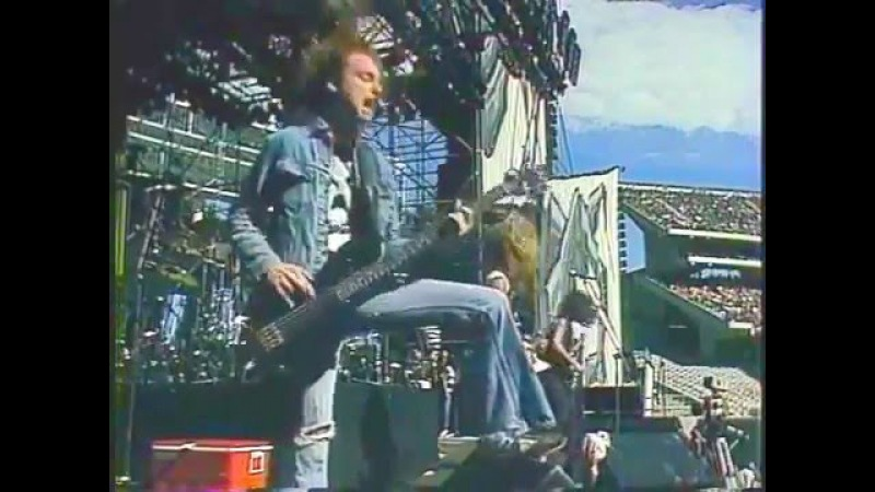Metallica For Whom the Bell Tolls Day On The Green 1985