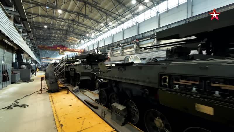 БМПТ Терминатор Телохранитель для танка