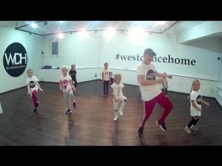 HIP-HOP дети. Профессиональная школа танцев West Dance home. Нижний Новгород