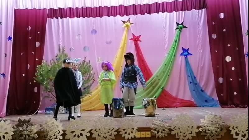 Детское театрализованное представление Новый год у поганых болот