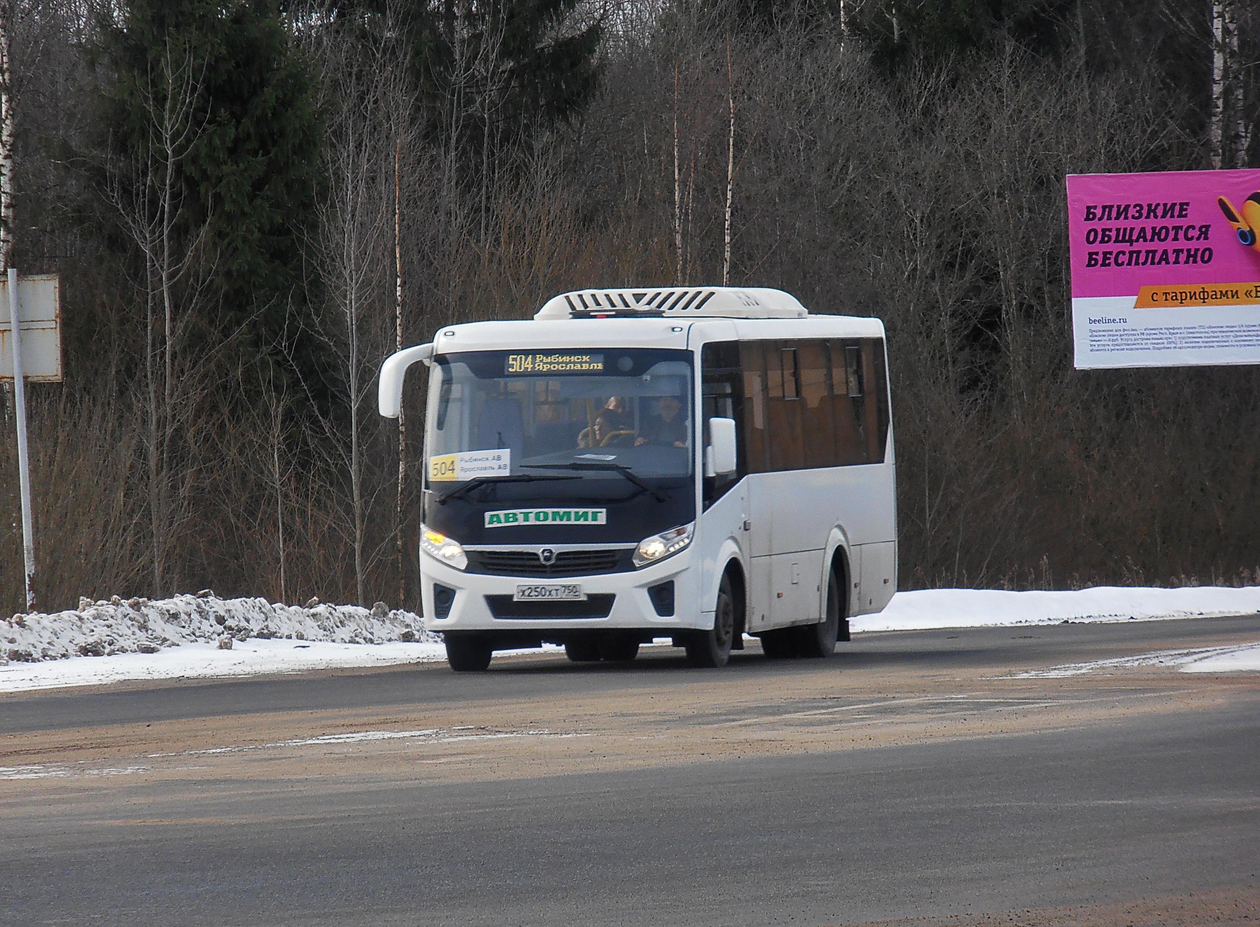 Автобус №504