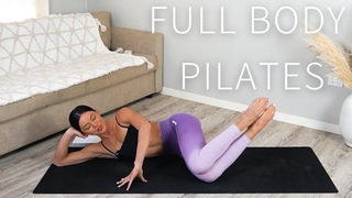 55 MIN FULL BODY PILATES WORKOUT    🤍 Day 1: Move With Me Series