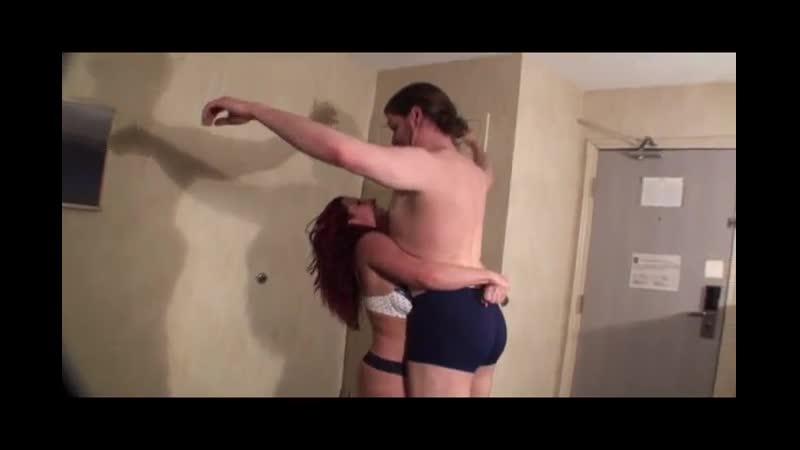 Girl lift guy