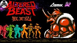 Juuouki (Altered Beast)  NES/Famicom/Dendy прохождение [60fps]