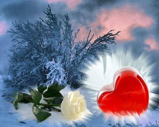 отметить пожелания сердечного тепла тремя