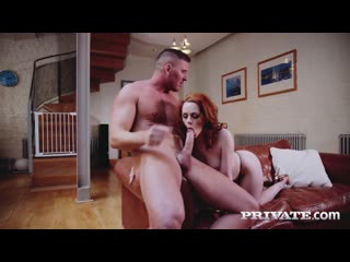 Private Ella Hughes - Horny Redhead Fucks the Painter NewPorn2019