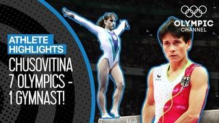 All Oksana Chusovitina's Olympic Routines | Athlete Highlights