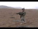 Army Soldier dual-wields some M249's