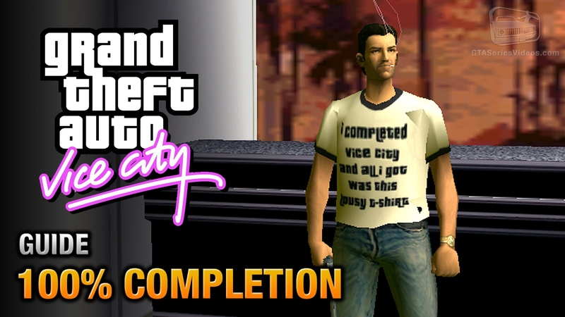 GTA Vice City 100% Completion Guide Done it All Trophy Achievement