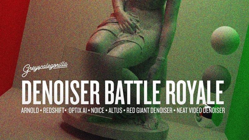 Denoiser Battle Royale The Ultimate Render Test Greyscalegorilla