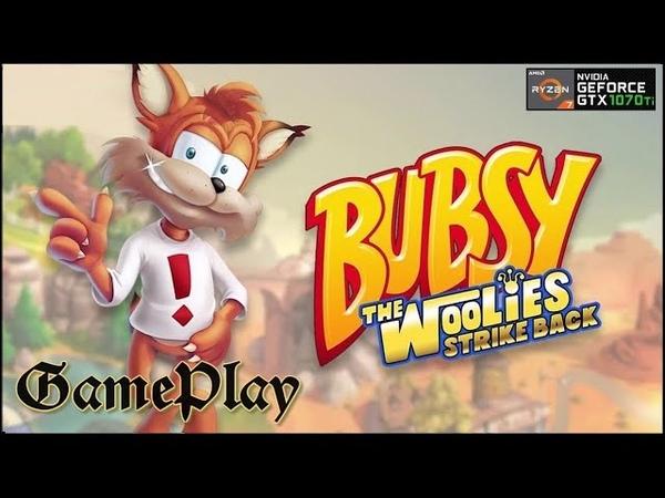 PC Game Bubsy the Woolies Strike Back 2017 Ryzen 7 3700X GeForce 1070 ti DDR 4 16 GB 3466