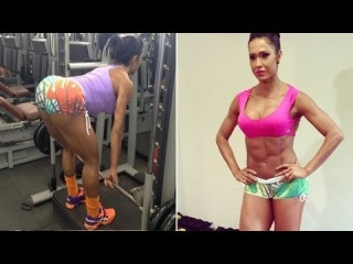 GRACYANNE BARBOSA: Fitness Model: Exercises and workouts