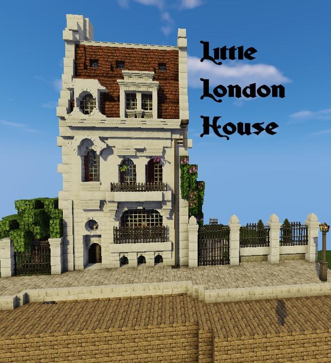 Little London House Minecraft Map