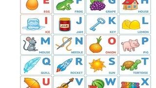 English alphabet/Английский алфавит