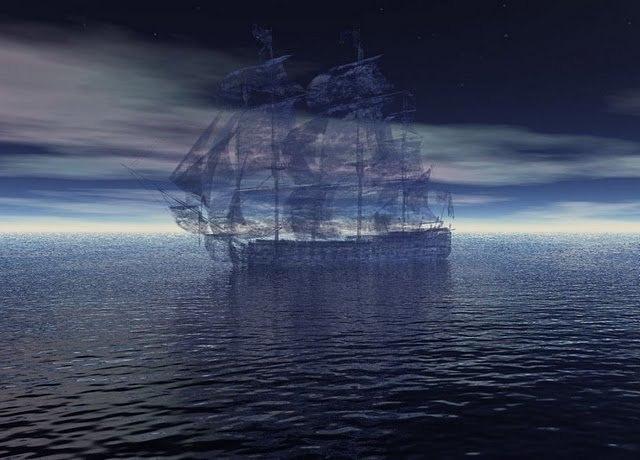 5 кораблей-призраков :