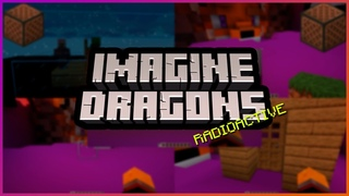 Imagine Dragons - Radioactive, но из звуков Minecraft