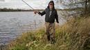 02.VID.Andrej Bukreev. Блесна воблер. Забросы спиннингом и проводка не дали результата. Волна на заливе. Осеннее небо. Очень редкие подходы к воде...
