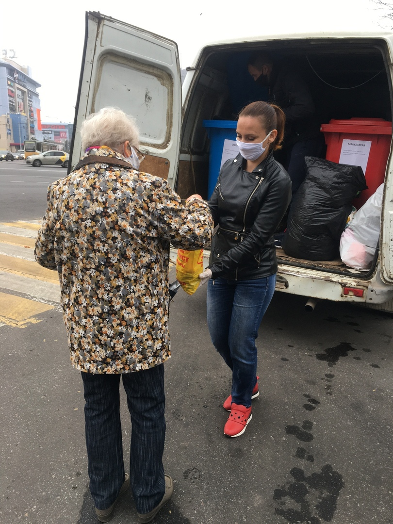 Экотакси собрало в Курске больше 170 кг вторсырья