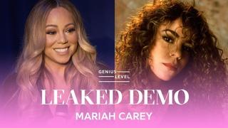 Mariah Carey Confirms Leaked Teenage Demo Is Real   Genius Level