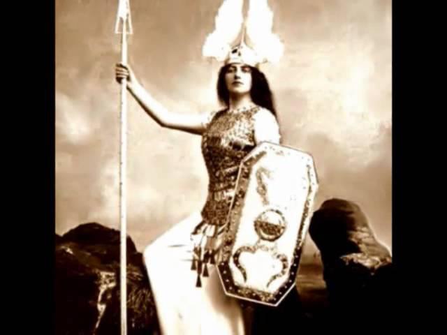 Salomea Krusceniski Ho jo to ho Wagner Die Walküre rec 1912