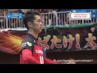 Suntory Sunbird vs Toray Arrow l 2018/2019 Japan Men Volleyball Premier l