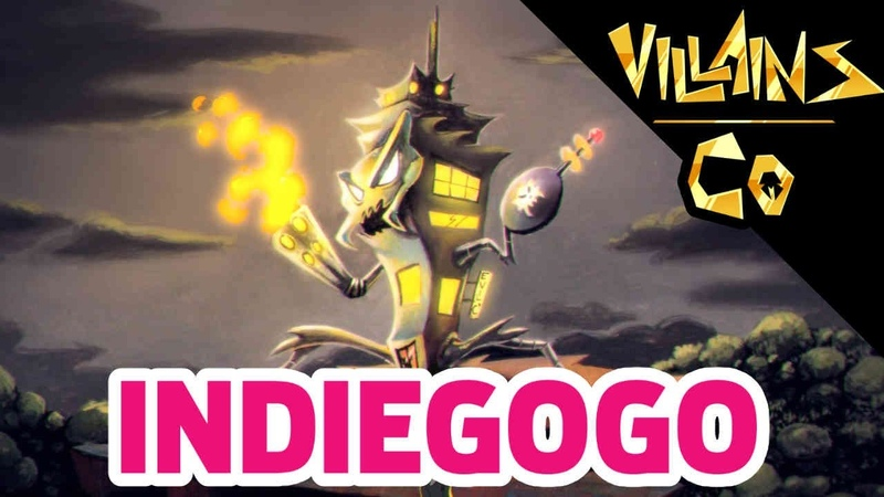 Villains And Co Indiegogo