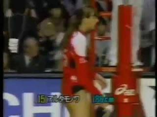 Big Revelation of Yevgenya ARTAMONOVA vs. Japan.. '91 WC