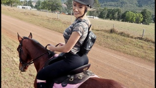 GOING HORSE RIDING!  | VLOG