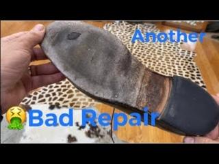 Bad Repair on an Allen Edmonds McGregor