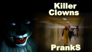 HARD! Scary  Prank Killer Clowns   Hard full!   It's Just WOW!