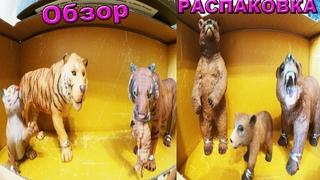 Моя Коллекция животных (ДеАгостини),обзор,распаковка фигурок для детей