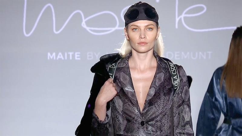 Maite by Lola Casademunt Fall Winter 2019 2020 Full Fashion Show Exclusive