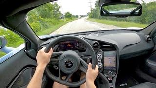 2021 McLaren 720S Coupe - POV Test Drive (Binaural Audio)
