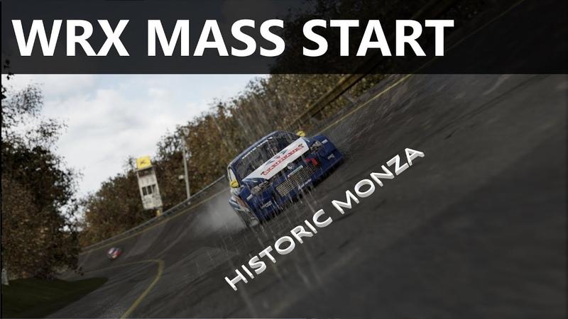 Project Cars 2 WRX mass start at historic Monza