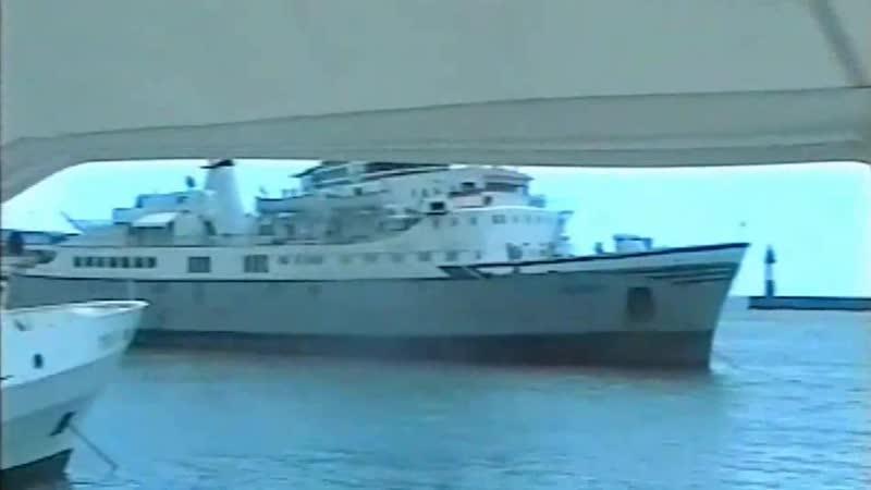 На яхте в морском вокзале Сочи