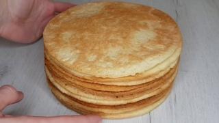 Гениально и Невероятно просто Очень вкусные Песочные коржи для торта