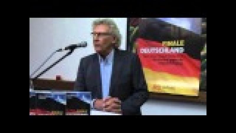Asyl Islam Innere Sicherheit Finale Deutschland. Hans Hermann Gockel AfD Mittelsachsen