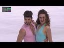 Gabriella Papadaquis et Guillaume Cizeron Fr SP Rhythm Dance 2019 Internationaux de France