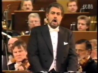 Plácido Domingo and Deborah Polaski in Concert, 1993, Berlin. (Barenboim)