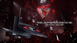 Игровой ноутбук ASUS ROG Zephyrus Duo 15 SE. Два экрана. Бесчисленные возможности.