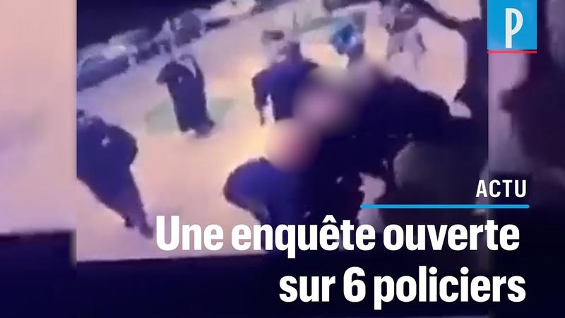 Seine Saint Denis des policiers soupconnés d'avoir jeté un paquet de drogue au pied d'un homme