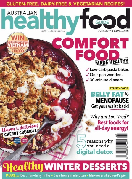 Australian Healthy Food Guide – June 2019