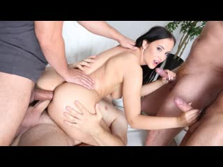 Jennifer Mendez - DAP Destination, 4on1 Balls Deep Anal, Gapes, First DAP GIO1491 (Anal, DP, DAP, Hardcore, Gonzo, Blowjob,)
