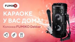 Лучшие портативные колонки. Обзор на bluetooth-колонку FUMIKO DEKKER.