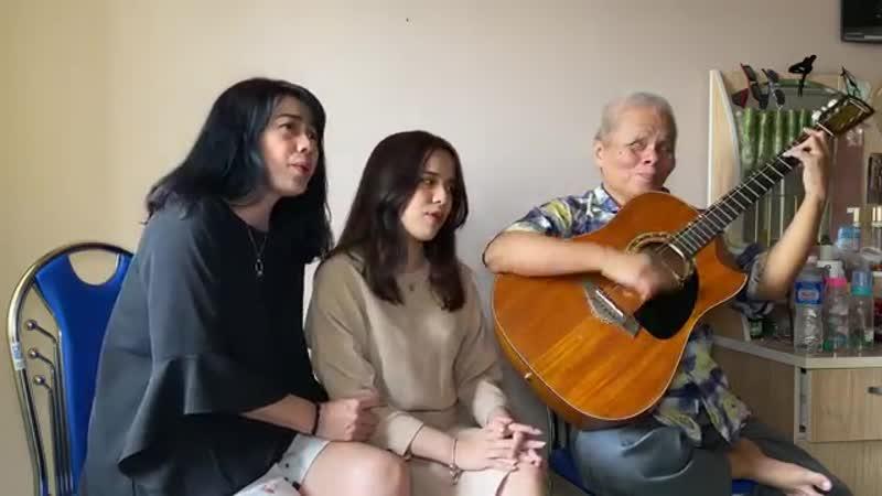ABBA Happy New Year Cover Guitar Mina Phan Mother Thanh Điền Guitar смотреть онлайн без регистрации