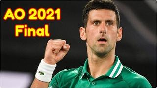 Novak Djokovic vs Daniil Medvedev .. AO 2021 .. Final .. Full Match Highlights