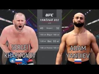 ХАРИТОНОВ vs ЯНДИЕВ БОЙ в UFC / ДРАКА БЫВШИХ ДРУЗЕЙ