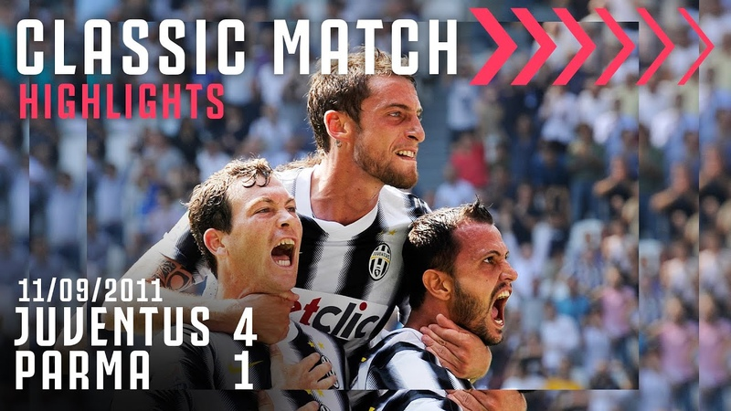 Juventus 4 1 Parma Con i gol di Lichtsteiner Pepe Vidal Marchisio Classic Match Highlights